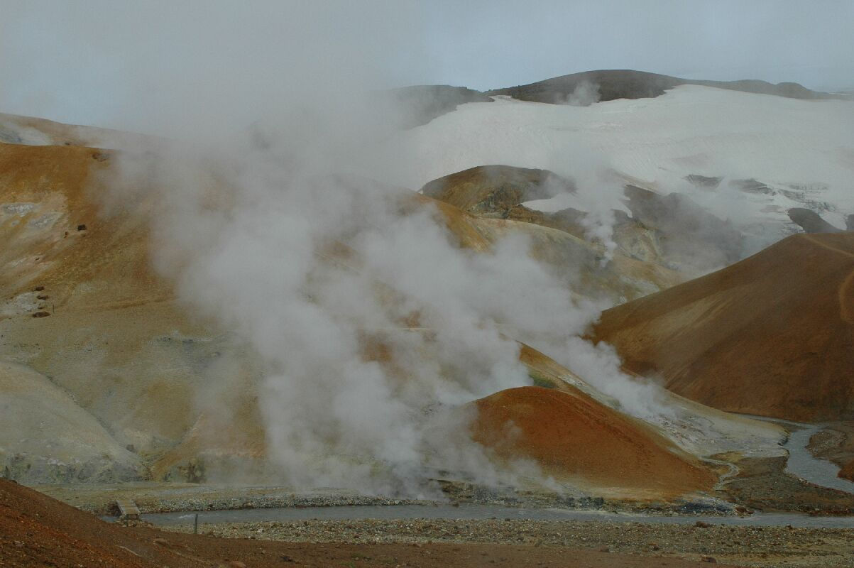 Vulkanismus in Island